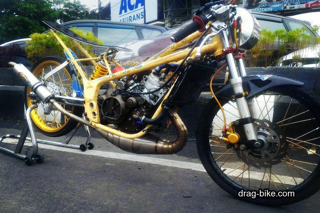 foto drak ninja rr 150 modifikasi mothai thailook style