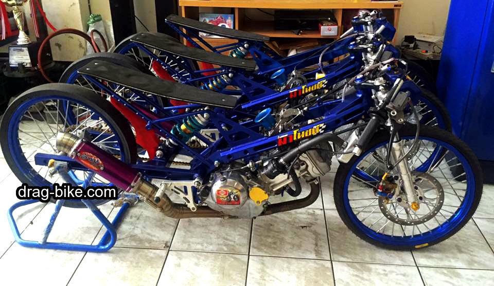 foto honda sonic 125 drag bike mothai thailook