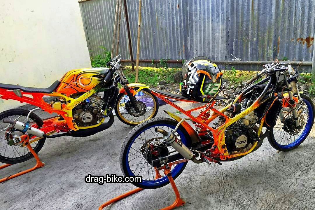 foto modifikasi drag ninja thailook style