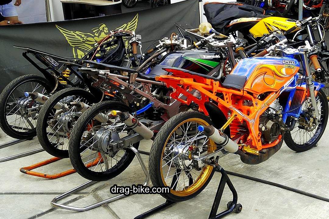 foto motor balap ninja r drag terbaik