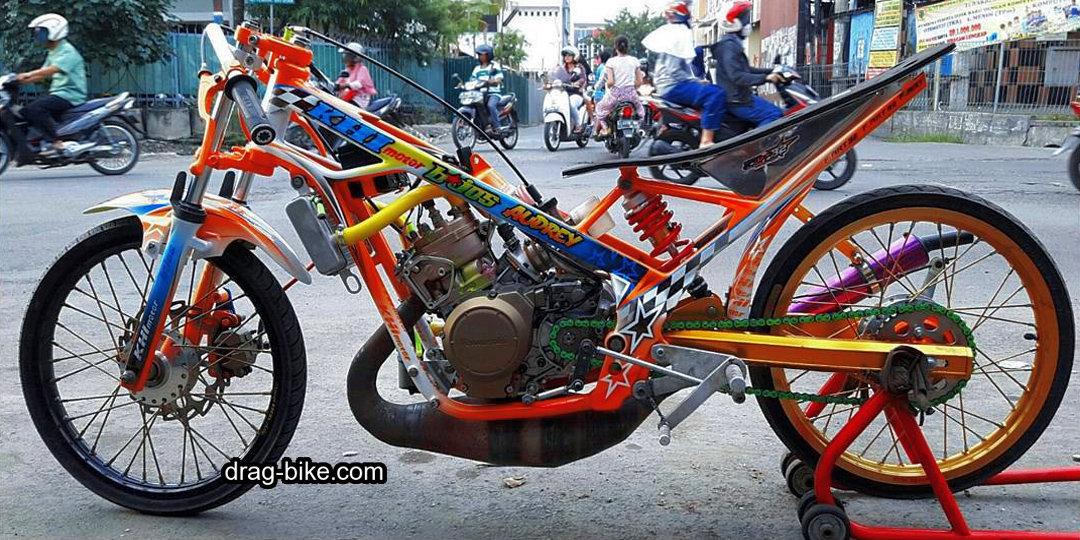 foto motor drag liar ninja r 150 terbaik