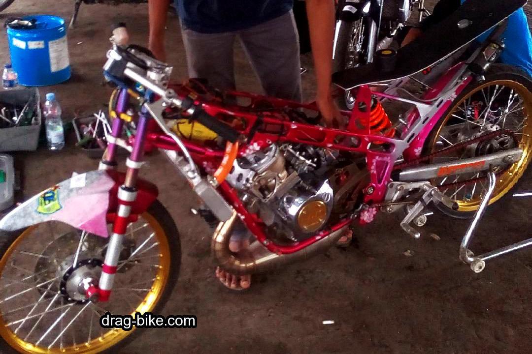 foto motor drag ninja r racing