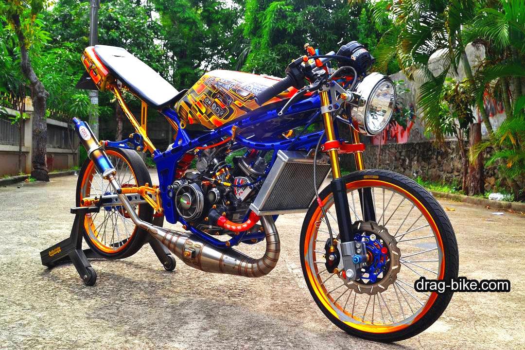 gambar drag ninja 2 tak modif street racing mothai thailook style