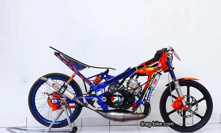 gambar modifikasi motor ninja r drag