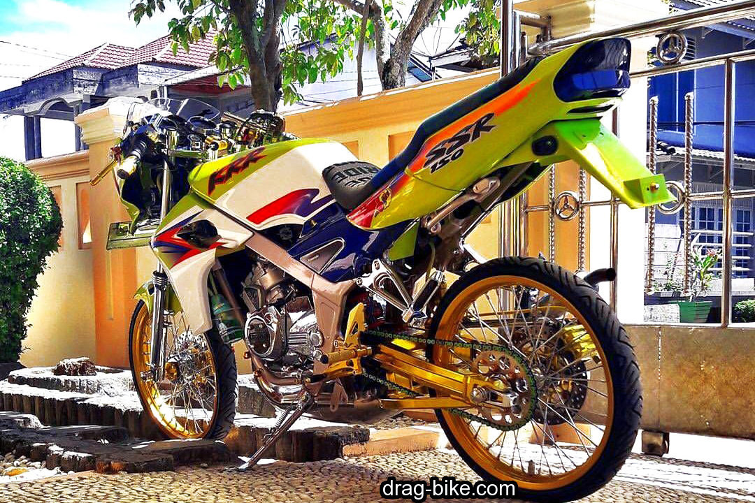 gambar motor kawasaki ninja 150 modifikasi simple