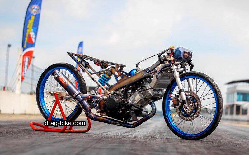 honda sonic drag bike thailand