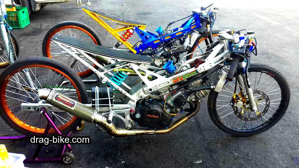 modif honda sonic drag race mothai style