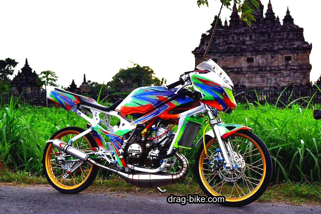kawasaki ninja modifikasi street racing