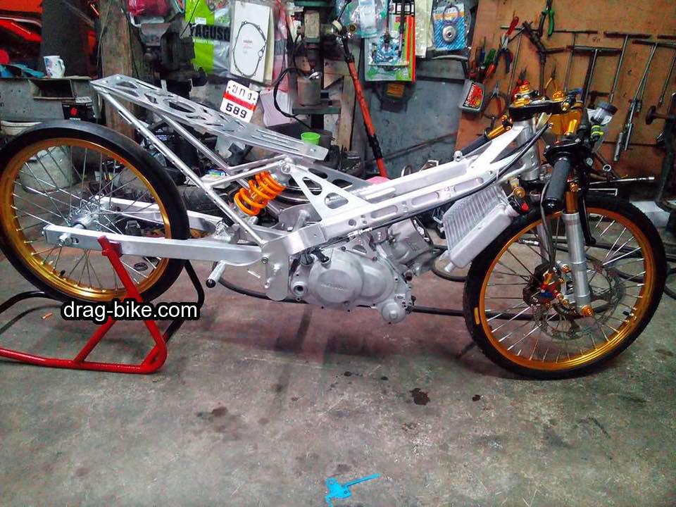 modifikasi drag sonic 150r mothai thailook