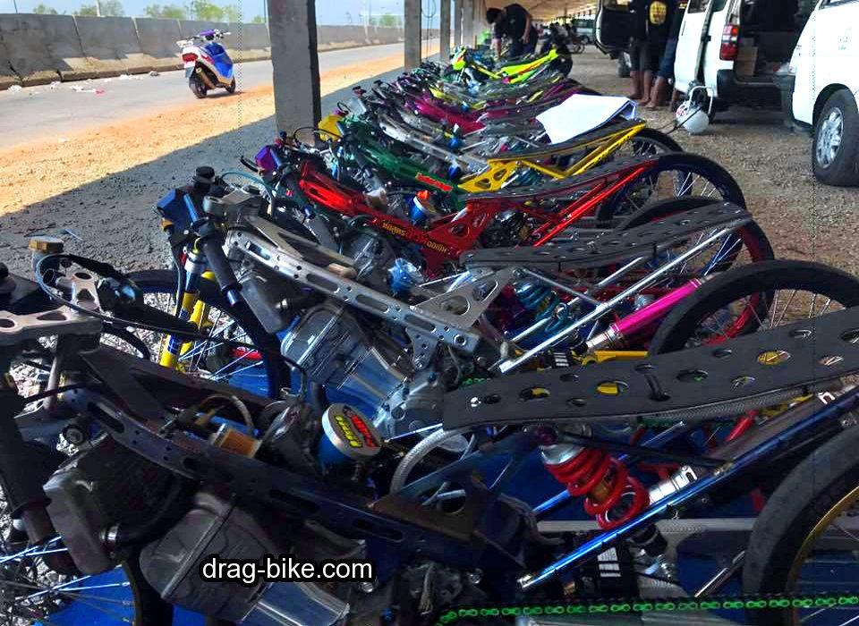 modifikasi honda sonic thailand drag bike