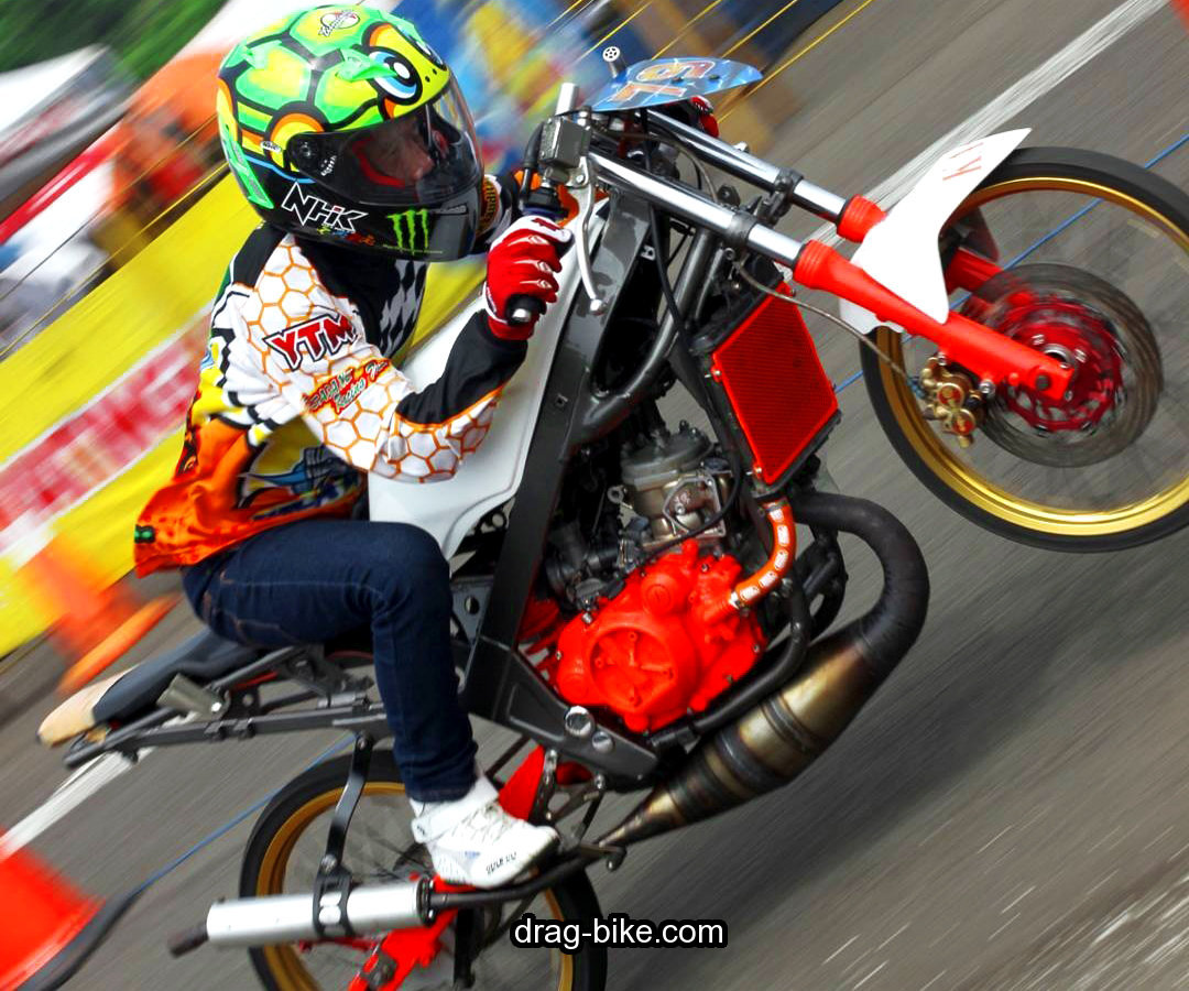 modifikasi motor ninja drag indonesia