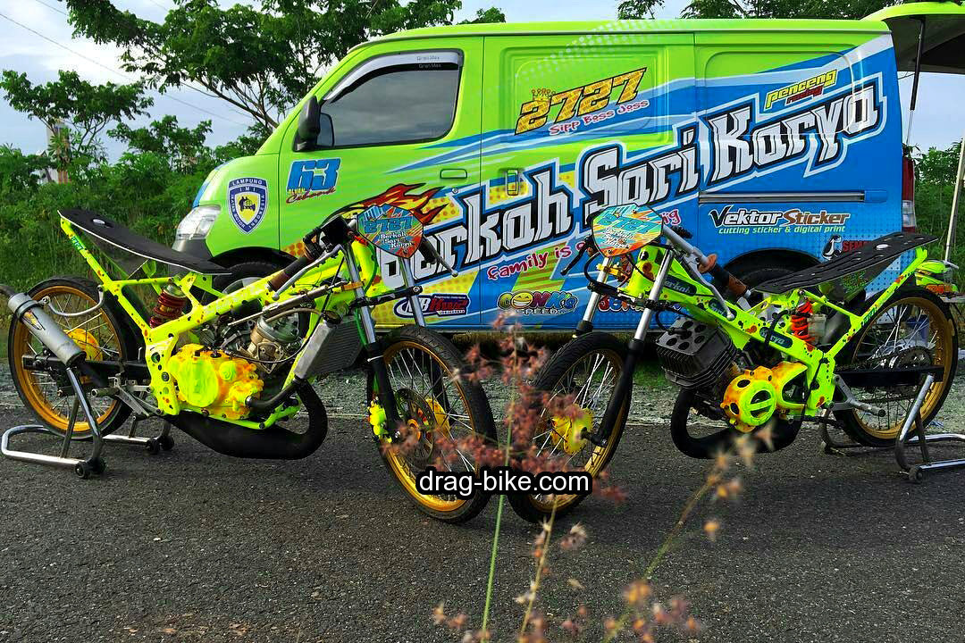 modifikasi motor ninja drak indonesia