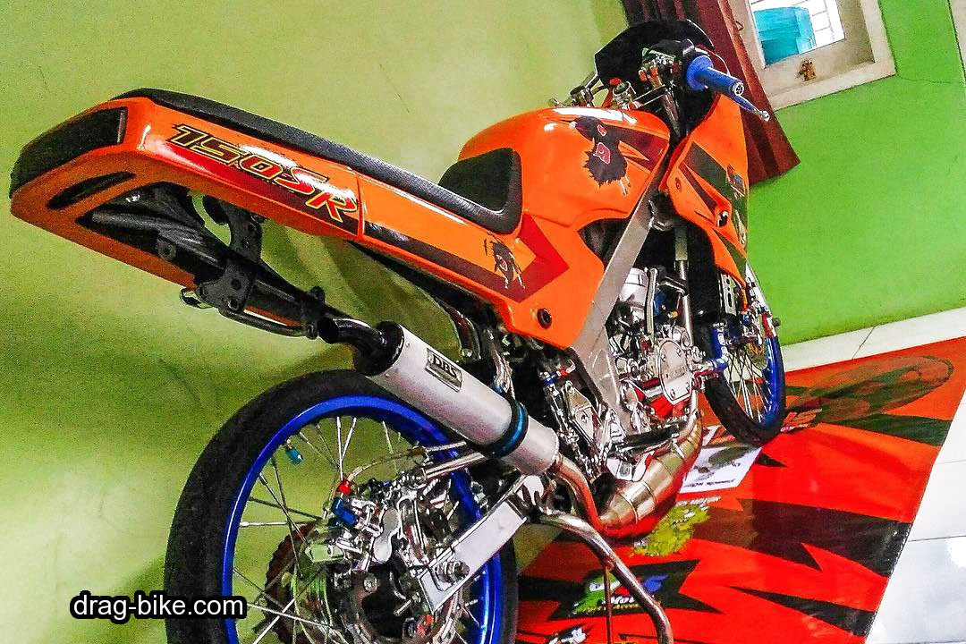 modifikasi motor ninja r body belakang model thailand