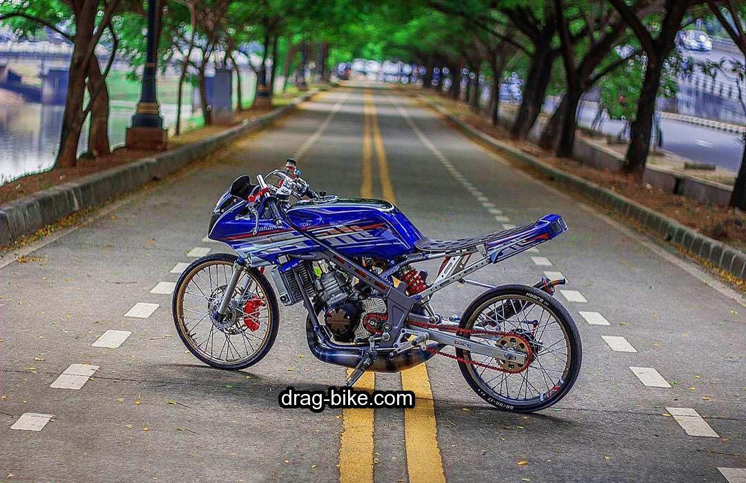 mothai thailook style modifikasi motor ninja r dragbike thailand