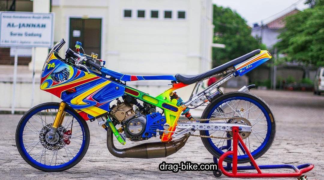 modifikasi motor ninja r thailook style ayam jago thailand