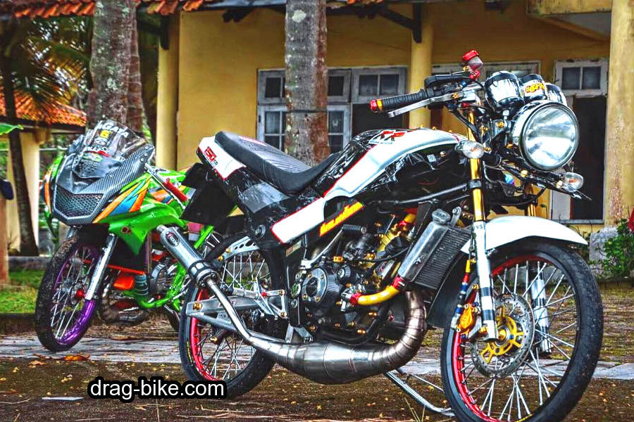 modifikasi ninja r model thailand style