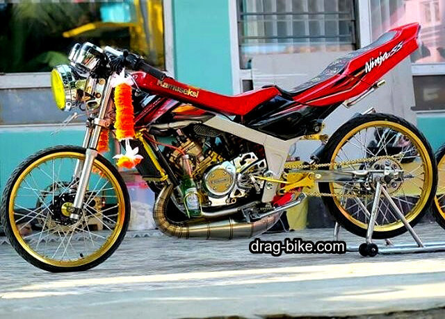 modifikasi ninja r thailook style racing street