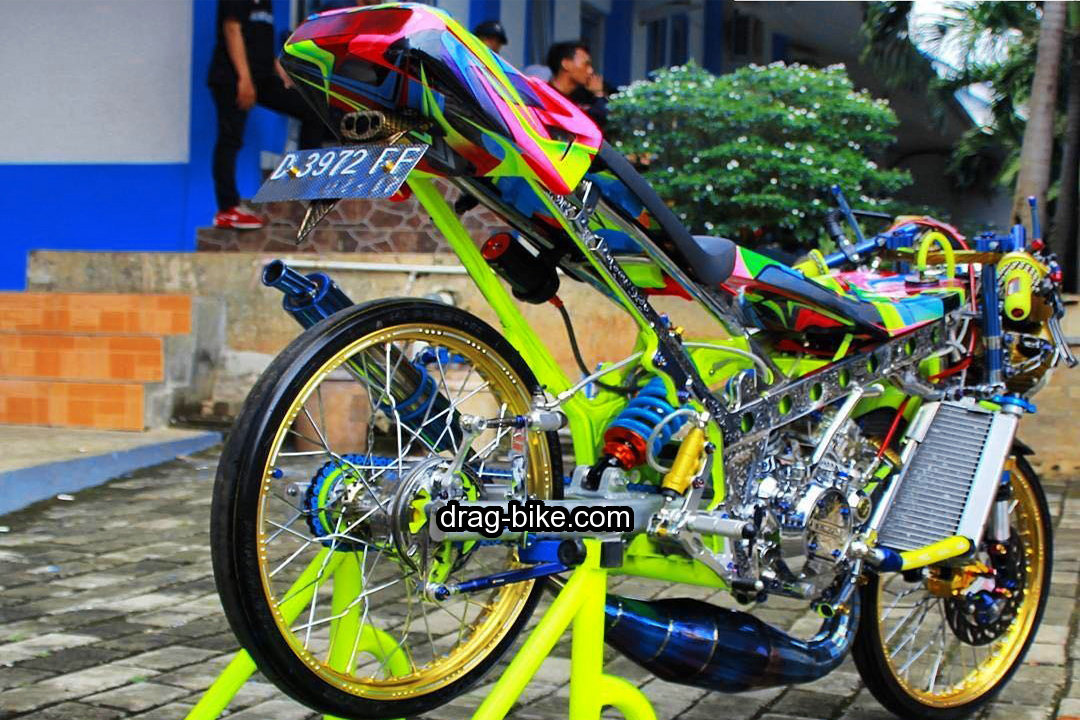modifikasi ninja r thailook style street racing