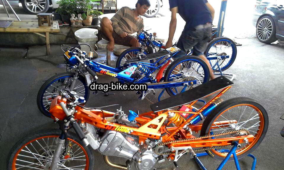 mothai thailook modifikasi sonic drag racing