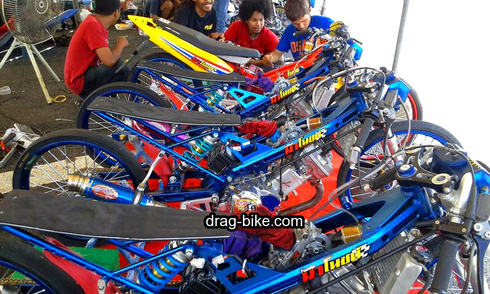 motor drag honda sonic 150 thailand