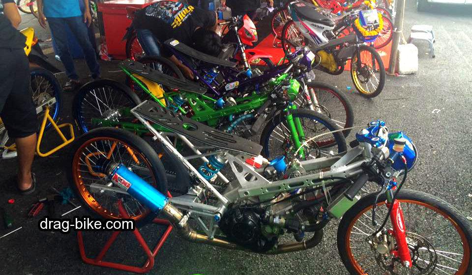 motor drag honda sonic 150 thailook
