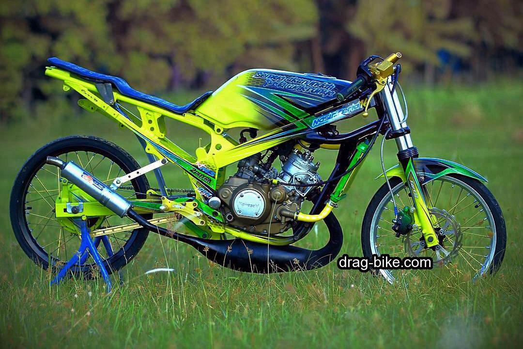 motor drag ninja modifikasi