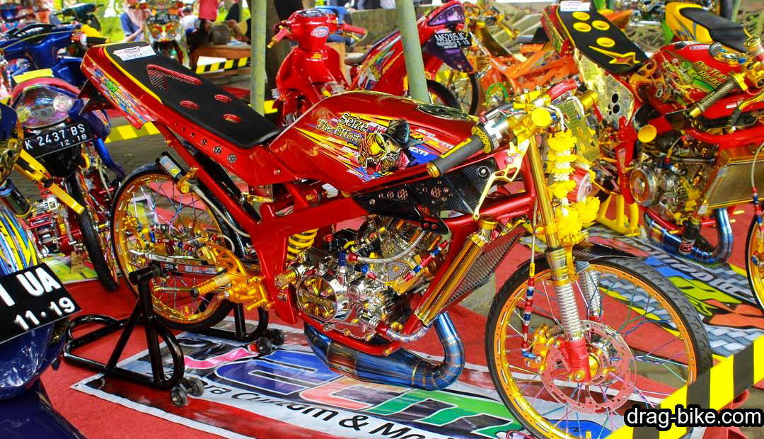 motor modifikasi ninja 150 r