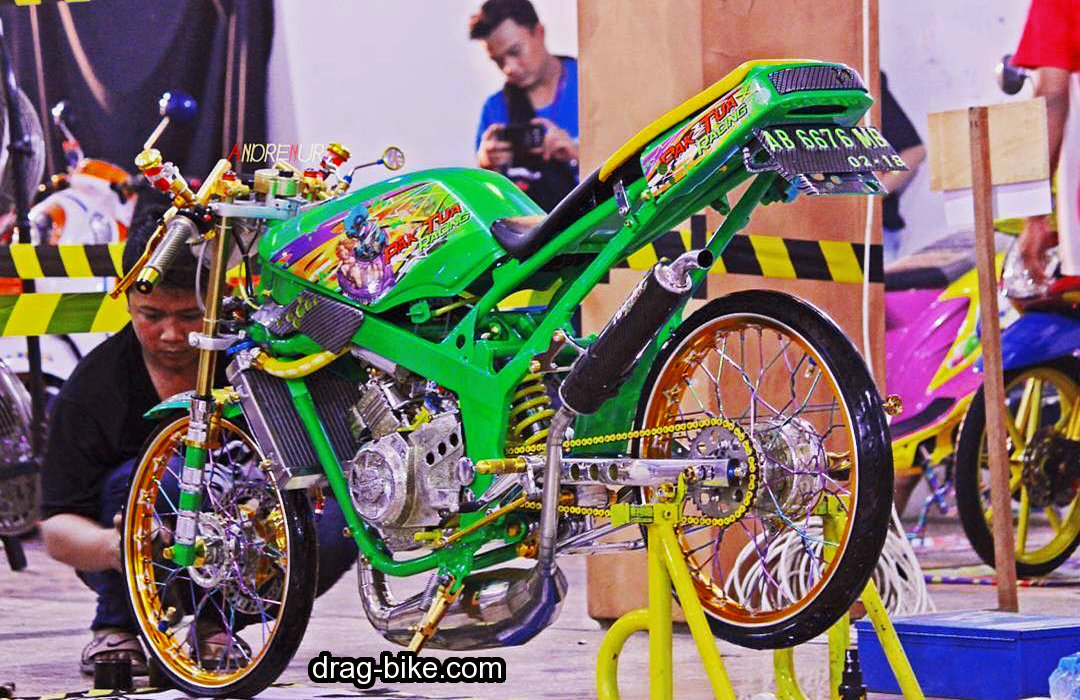 ninja r modifikasi racing street thailook