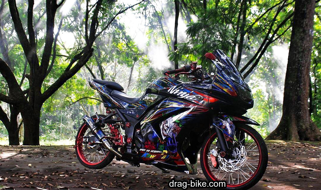 Foto Drag Ninja 4 Tak Modif Kontes Cutting Sticker