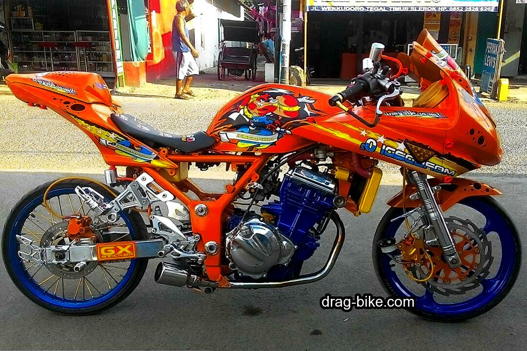 Foto Drag Ninja 4 Tak Racing Dragbike