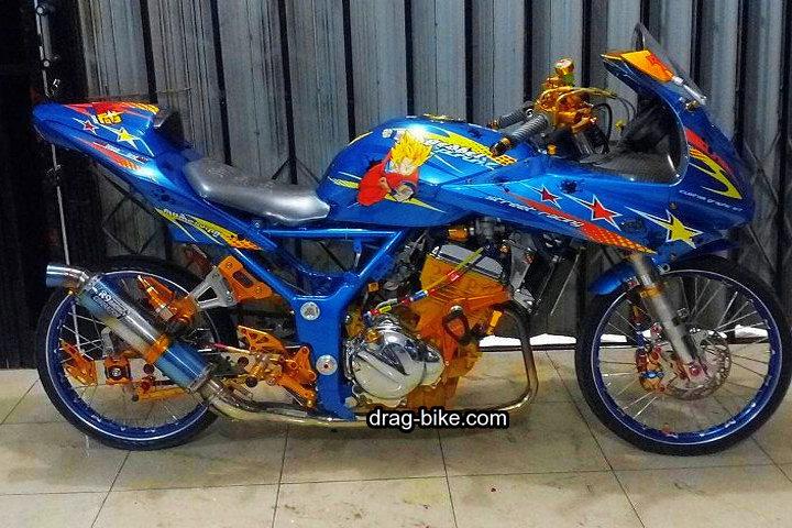 Foto Foto Motor Ninja 4 Tak Modif Drag
