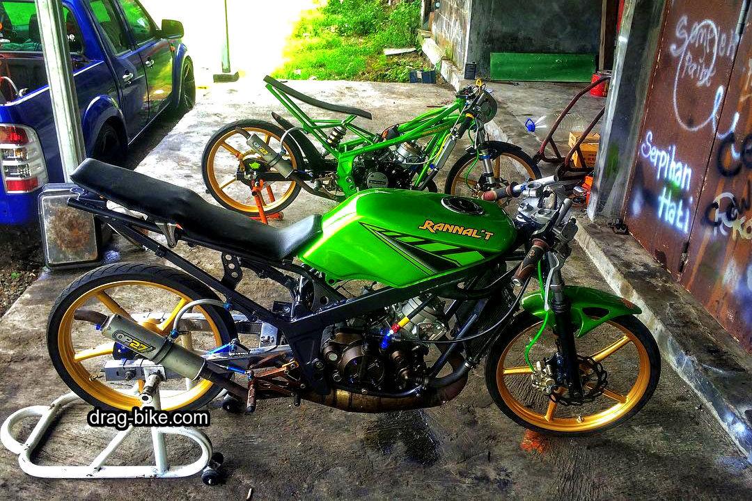 Foto Motor Balap Ninja Rr Drag Racing