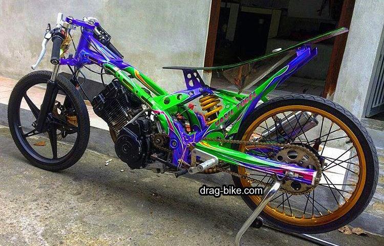 Foto Motor Drag Fu Modif Harian