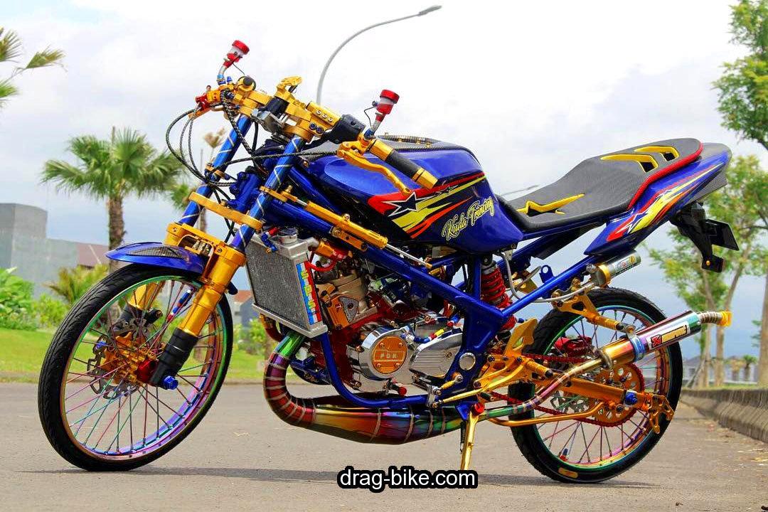 Foto Motor Drag Ninja RR 150 Mono