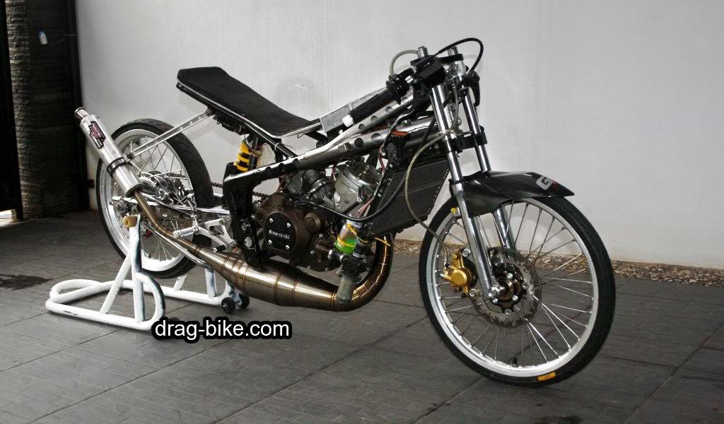 Foto Motor Drag Ninja Rr Modif Mothai Thailook Style