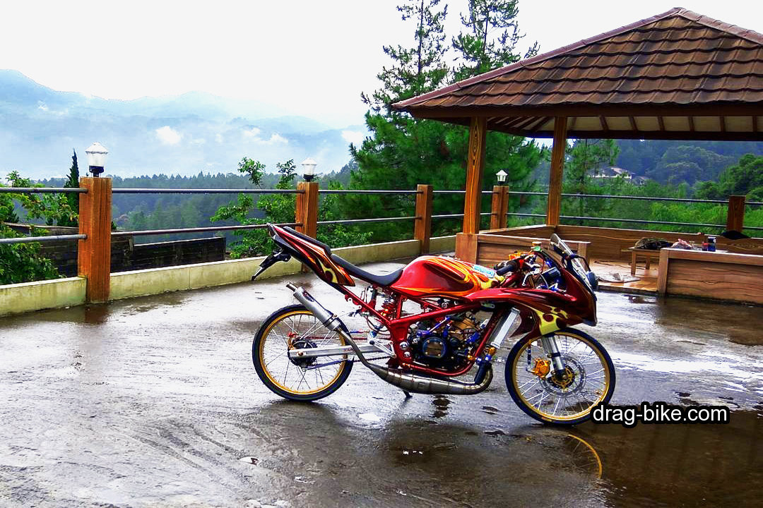 Foto Motor Ninja Balap 2 Tak Thailand Style
