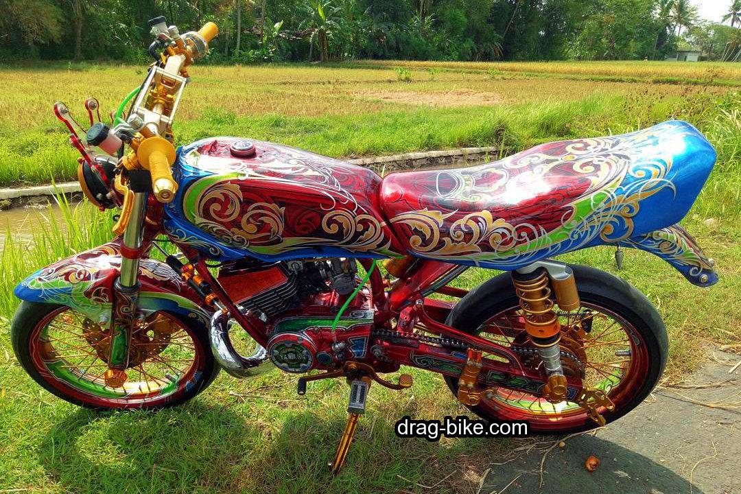Foto Motor Rx King Full Modif Airbrush Jogja Solo