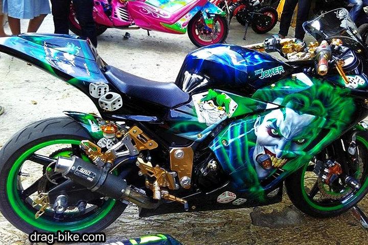 Foto Ninja 4 Tak Modifikasi Airbrush Terbaik