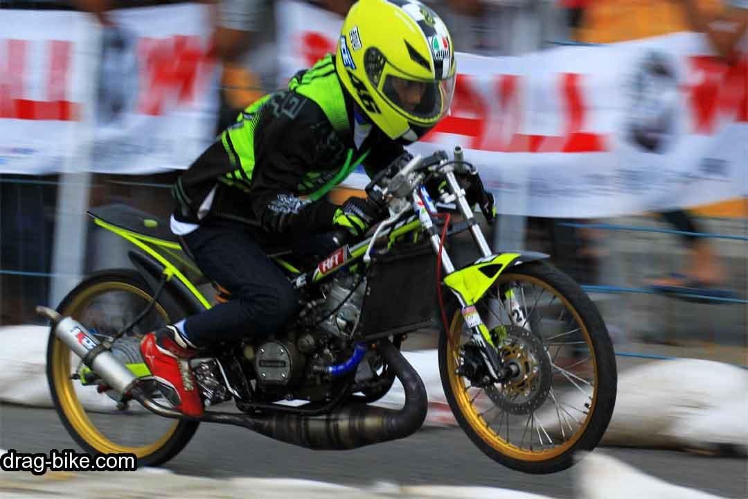 Gambar Drag Bike Ninja Rr Modifikasi Drag
