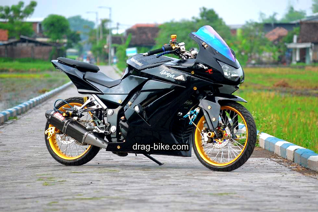 Gambar Modifikasi Ninja 250 4 Tak Street Racing