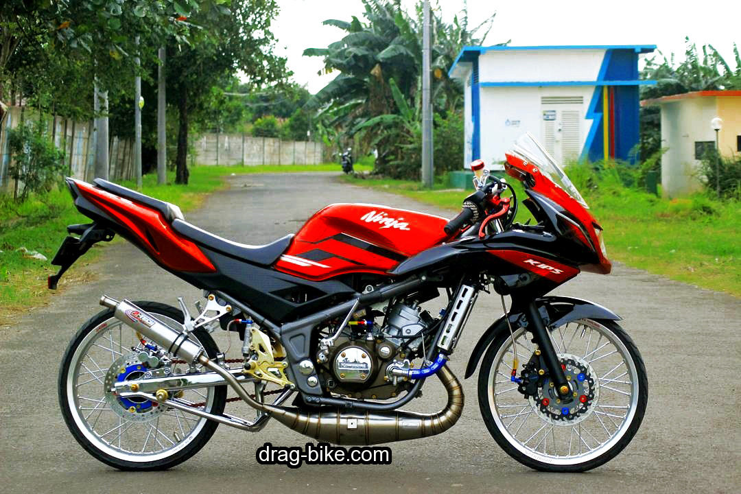 Gambar Motor Drag Ninja Modifikasi Racing