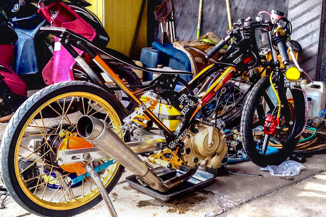 Gambar Motor Drag Satria Fu Ceper Automotivegarage Org