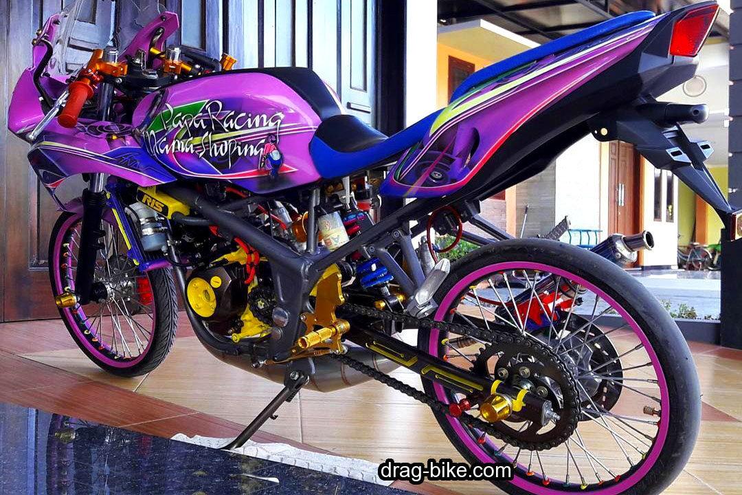 Gambar Motor Ninja RR Modifikasi