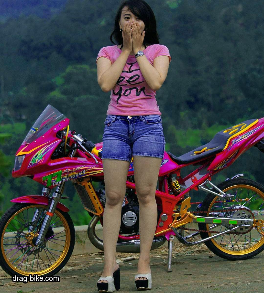 Foto ninja drag bike 8