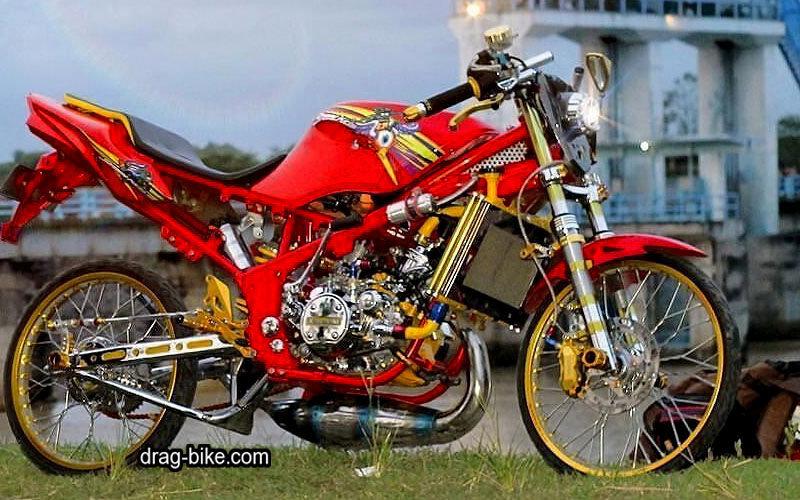 Kawasaki KRR Mono Modif Kontes Terbaik