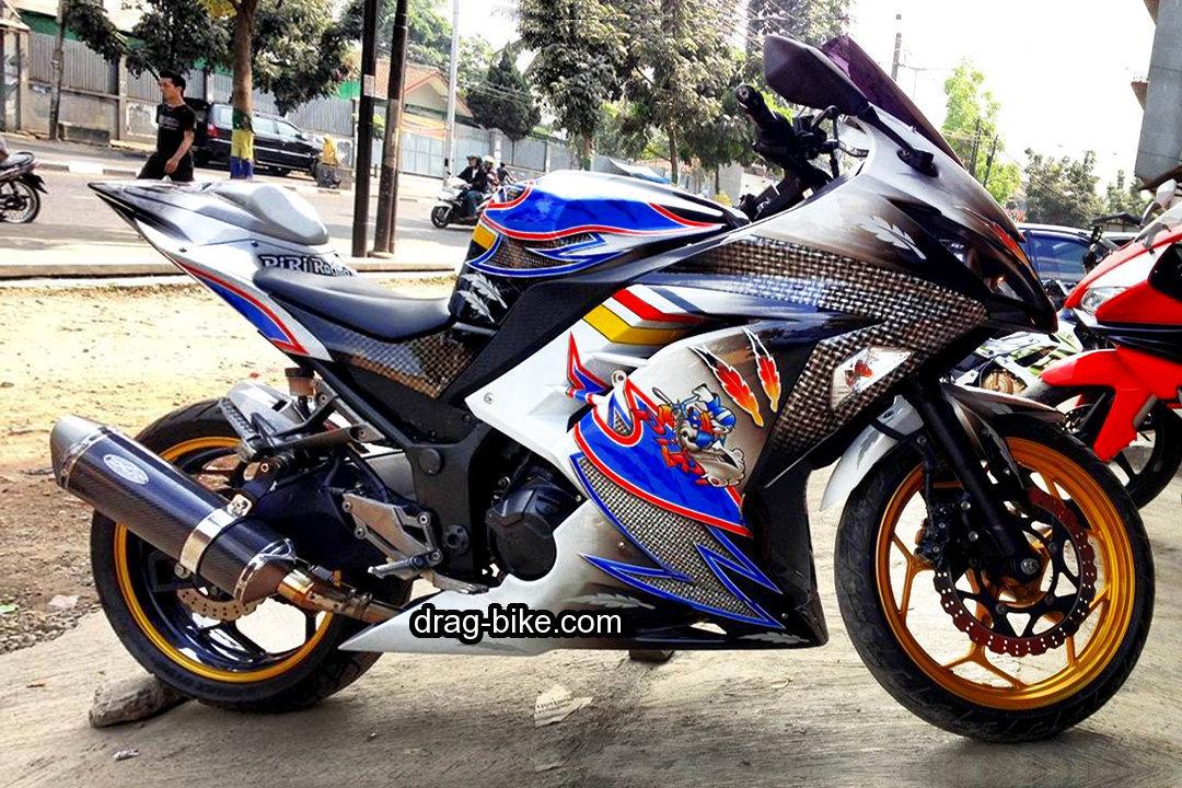 Kawasaki Ninja 250 Modifikasi 4 Tak Balap