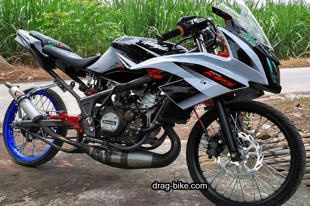 Kawasaki Ninja RR Modif Drag Bike Racing