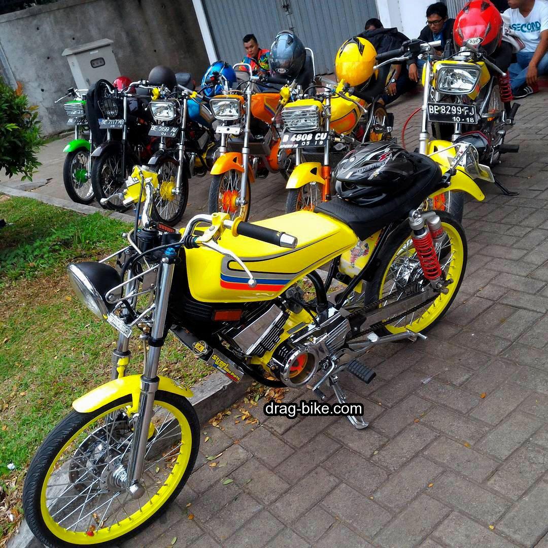Modif Motor Drag Rx King Ban Kecil Radiator