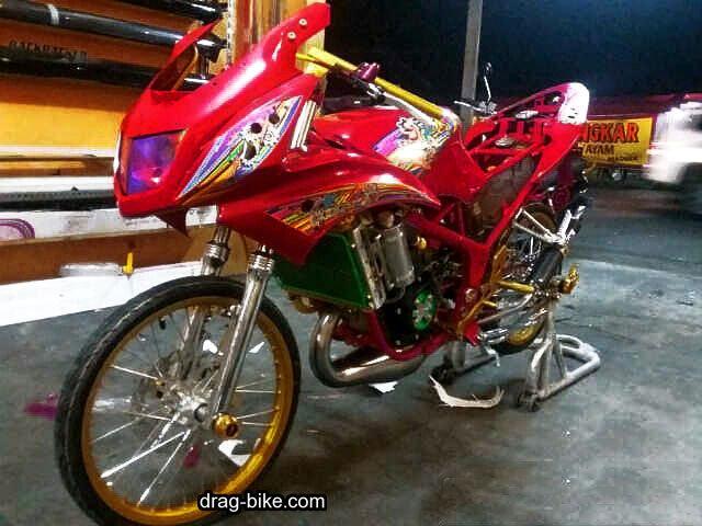 Modif Ninja RR Jari Jari Street Racing
