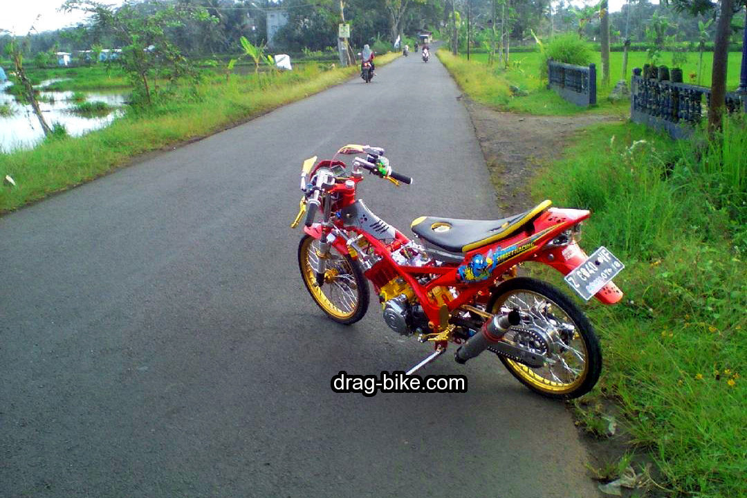 Modif Satria Fu Airbrush Simple